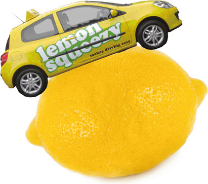Lemon squeezy and the giant lemon